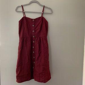 NWT burgundy summer dress